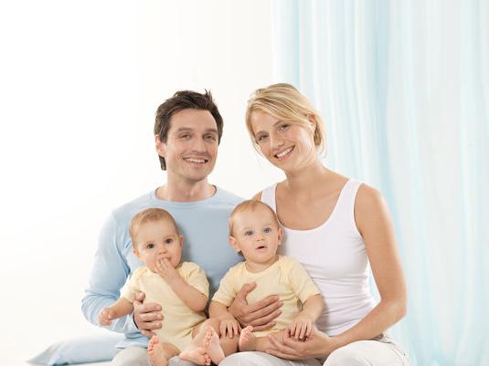Молодая украинская семья