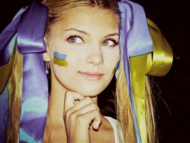 украинская студентка